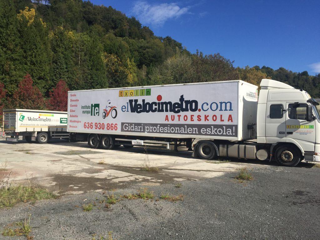 Rotulación de Lonas para Camión - Rotulación de Toldos de Camión