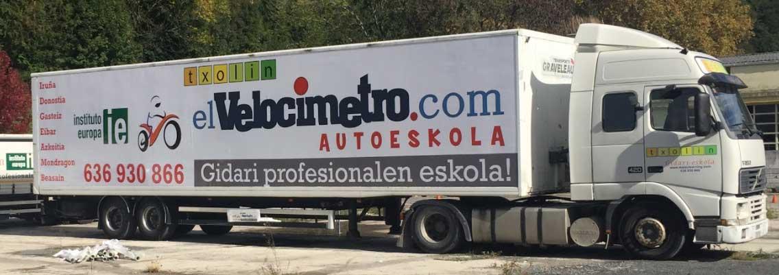 Taller de rotulacion de camiones