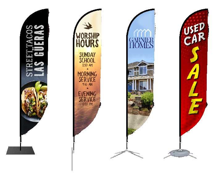 Banderolas publicitarias personalizadas